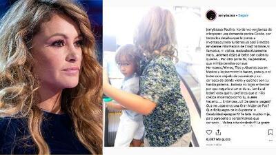 """""""No te queda hacerla de víctima y de la buena mujer"""": Jerry Bazua ataca fuertamente a Paulina Rubio"""