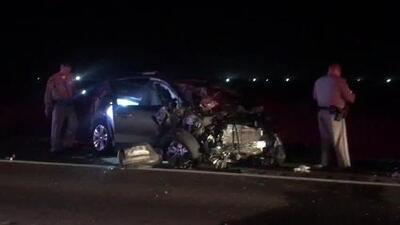 Accidente fatal mata a una persona en la autopista 41 en Fresno