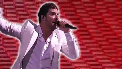 David Bisbal cantó 'Ave María' y cerró con broche de oro su noche en Viña del Mar 2019
