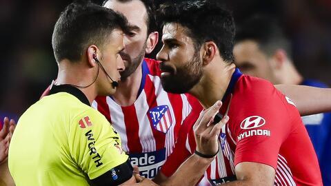 """Diego Costa le dijo al árbitro: """"Me ca... en tu pu.. madre"""", según el acta"""