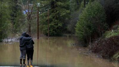 Declaran estado de emergencia local por inundaciones en el condado Sonoma