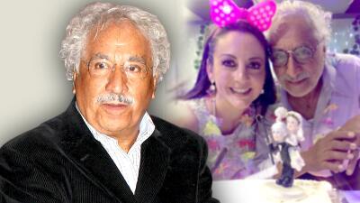 Rafael Inclán asegura que a su esposa no le importa que él le lleve 35 años