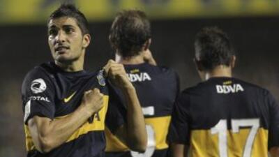 Boca Juniors salió triunfante en el primer partido ante Corinthians