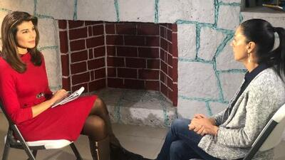 Claudia Sheinbaum, primera mujer jefa de gobierno de la CDMX, explica a Patricia Janiot sus planes para la ciudad