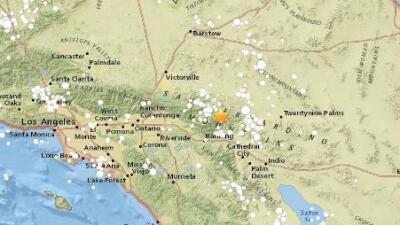 Sismo de 3.9 sacudió la zona de Morongo Valley en California