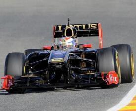 Los autos de la Fórmula 1 2011