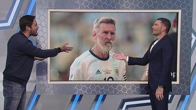 FaceApp challenge: ¿Será que cuando Messi se vea viejo ya habrá ganado un Mundial con Argentina?