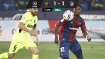 Atlético de Madrid no pudo con el Levante en juego pendiente