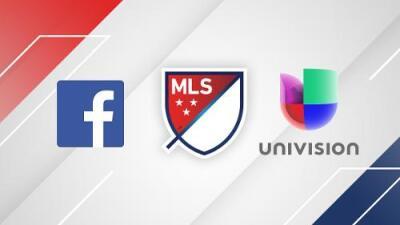 MLS y Univision Deportes anuncian acuerdo para transmitir partidos en inglés por Facebook Live