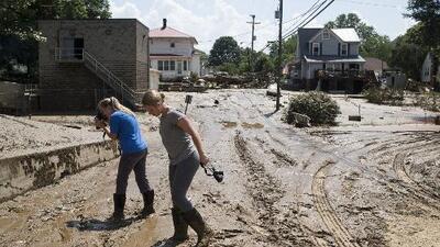 Inundaciones repentinas en Maryland