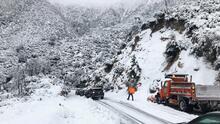 Estas son las carreteras impactadas por la nieve en el sur de California durante este Thanksgiving
