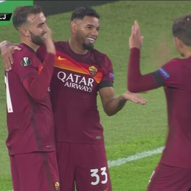 ¡Huele a goleada de escándalo! Borja Mayoral hace el 3-0 de la Roma