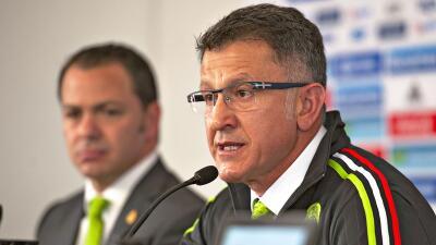 Juan Carlos Osorio ve a técnicos en México en zona de confort