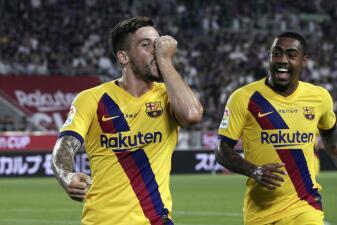 La victoria del Barcelona sobre el Vissel Kobe, en imágenes