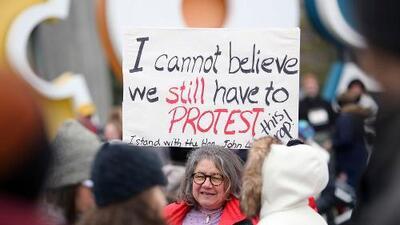 Cinco datos y un mapa que muestran que las mujeres todavía tienen muchas razones para protestar