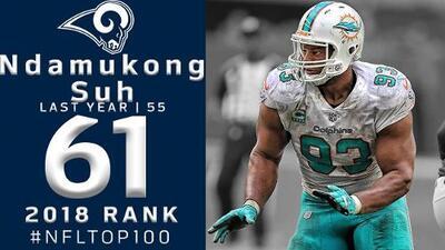 #61 Ndamukong Suh (DT, Rams) | Top 100 Jugadores NFL 2018