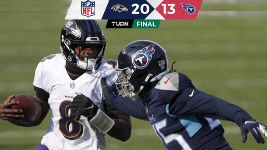 Lamar Jackson por fin ganó en los Playoffs y los Ravens avanzaron