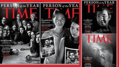 'Time' elige como persona del año a periodistas asesinados y perseguidos
