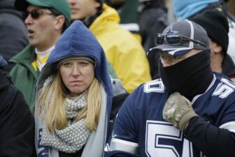 Las imágenes del Packers vs. Cowboys