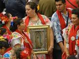 La Virgen de Guadalupe, protagonista en los jardínes del Vaticano