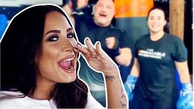 Que se cuiden los trolls: ahí viene Demi Lovato y su poderoso gancho de box