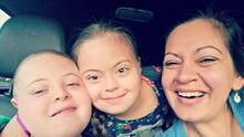 Latina mother takes to social media to share her journey raising two children with Down syndrome