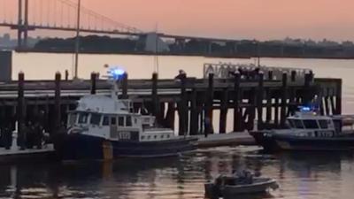 Equipos de rescate reanudan búsqueda de bañista desaparecido en Throggs Neck, El Bronx
