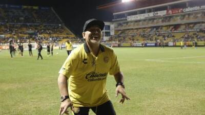 ¡Ya apareció! Maradona volverá a Culiacán y seguirá con Dorados