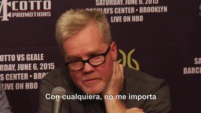 "Freddie Roach: ""Cotto puede ganarle a Mayweather"""