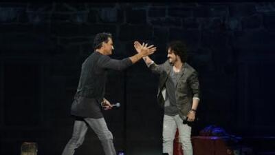 Tommy Torres sorprende en concierto con Ricardo Arjona