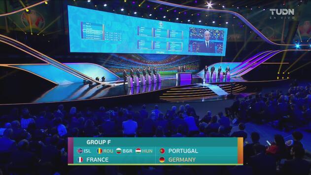 """¡Paren todo! Queda definido el """"Grupo de la Muerte"""" en la Eurocopa 2020"""
