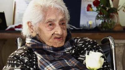 Conocimos a la mujer más longeva de los Estados Unidos, y no te imaginas cuántos años tiene