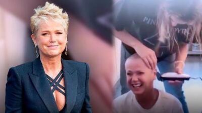 Xuxa sufre una transformación radical a manos de su hija