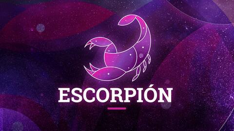 Escorpión - Semana del 18 al 24 de marzo