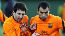 El emotivo adiós de Messi a Mascherano por su retiro