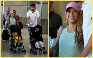 Shakira vive un family trip con sus hijos y Piqué