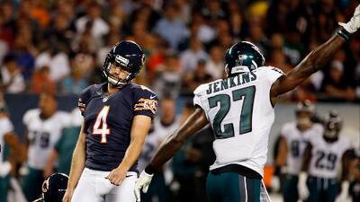 La defensiva de Philadelphia acabó con Cutler y los Chicago Bears