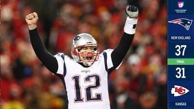 ¡Dinastía indomable! Patriots superan a Chiefs con drama y llegan otra vez al Super Bowl