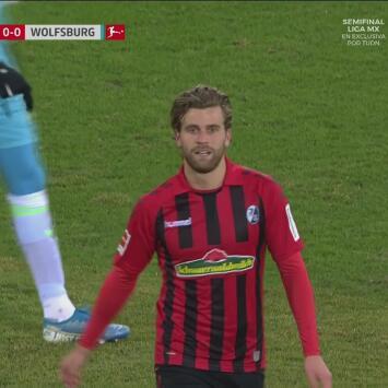 Freiburg se impone por la mínima al Wolfsburg