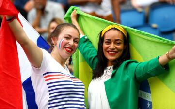 Francesas y brasileñas listas para la Final anticipada del Mundial femenino