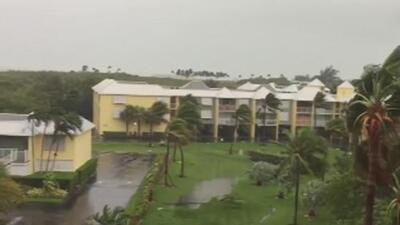 "Habitante de Key West que no evacuó: ""Estamos esperando a ver si se calma, a ver si pasa"""