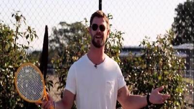 Así le pidió Thor a un gran tenista que le devolviera su martillo... en español