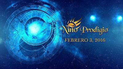 Niño Prodigio - Sagitario 3 de febrero, 2016