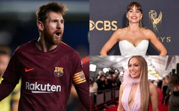 Messi es la celebridad latina mejor pagada: gana más que Sofía Vergara y Jennifer López