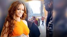 Habla con Rihanna sin saberlo: el momento en que un joven se entera con quién está marchando