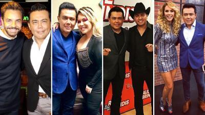 EN FOTOS: Famosos que han pasado por los micrófonos de El Show de Raúl Brindis