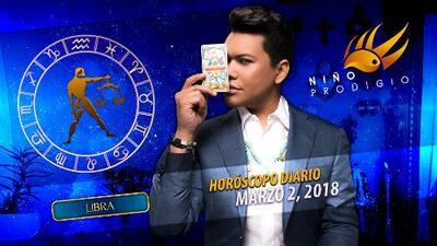 Niño Prodigio - Libra 2 de marzo 2018