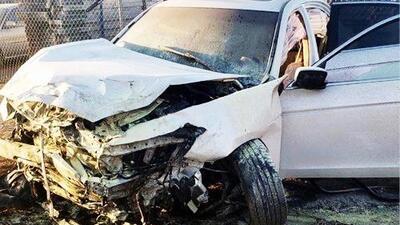 Muere niño de 8 años en accidente donde conductor no respetó señal de stop
