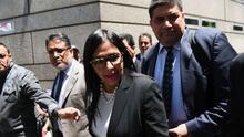 Canciller venezolana protagoniza escándalo tras intentar entrar a la fuerza a la reunión del Mercosur