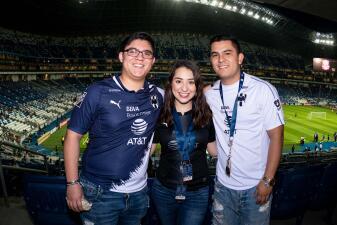 Así se vivió el color de la Semifinal de la Liga Campeones entre Monterrey y Sporting KC